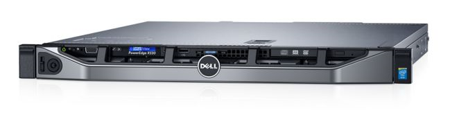 Сервер DELL R330-AFEV-008, Intel Xeon E3-1220V5, 8Gb, БП: 350
