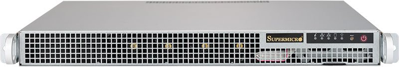 Платформа SuperMicro  SYS-1018R-WR, 1U Rack,  Socket-2011-v3,  БП: 400
