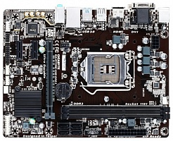 Материнская плата Gigabyte GA-H110M-S2 (Socket 1151, Intel H110, 2xDDR-4, 7.1CH, 1000 Мбит/с, USB3.0, D-Sub, mATX), Socket-1151,  Intel H110,  DDR4
