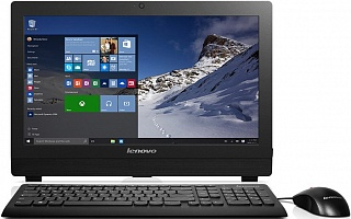 "Моноблок Lenovo S200z FS  19.5""(1600x900)/Intel Pentium J3710(1.6Ghz)/4096Mb/1000Gb/DVDrw/Int:Intel HD/Cam/BT/WiFi/war 3Y carry-iny/black/Keyb&Mouse/D"