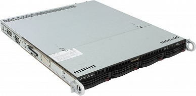 Платформа SuperMicro  SYS-6019P-MT, 1U Rack,  S3647,  БП: 500