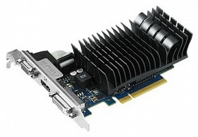 Видеокарта ASUS GeForce GT 730, 1024MB,  GDDR3,  64bit,  PCI-E 2.0