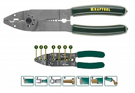 Электропассатижи KRAFTOOL INDUSTRIE 22665