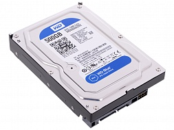 Жесткий диск Western Digital Blue WD5000AZRZ, 500Gb,  3.5