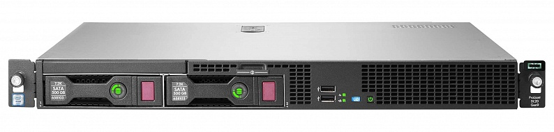 Сервер HPE Proliant DL20 Gen9, Intel Xeon E3-1240V6, 16Gb, БП: 290