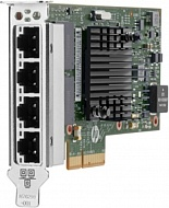 HPE Ethernet Adapter, 366T, 4x1Gb, PCIe(2.1), Intel, for Gen9 servers