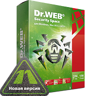 Программное обеспечение KEY DR.WEB  Security Space, КЗ