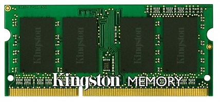 Память KINGSTON KVR16LS11S6/2, 2Gb,  SO-DIMM,  DDR3L,  1600 МГц