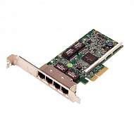 DELL NIC Broadcom 5719 QP 1Gb Network Interface Card, Full Height - Kit