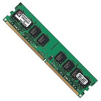 Память KINGSTON KVR667D2N5/2G, 2Gb,  DIMM,  DDR2,  667 МГц