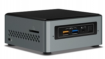 Платформа Intel NUC Original BOXNUC7i3BNH, Intel Core i3 7100U, 2.4 ГГц (2); слотов DDR4 — 2; встроенная графика — Intel HD Graphics 620; разъемов HDM, Intel Core i3 7100U