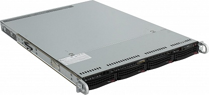 Платформа SuperMicro  SYS-5019P-M, 1U Rack,  Socket-3647,  БП: 350