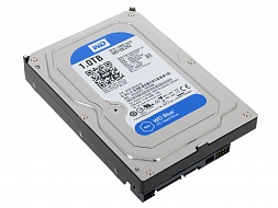 Жесткий диск Western Digital Blue WD10EZRZ, 1024Gb,  3.5