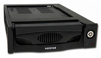 Mobile rack AGESTAR SR3P(SW)-3F BLACK