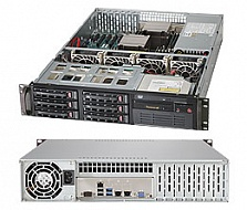 Платформа SuperMicro  SYS-6028R-T, 2U Rack,  Socket-2011-v3,  БП: 650