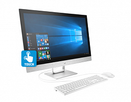 Моноблок HP 27-r115ur, Intel Core i5 8400T,  12Gb,  1000Gb,  27