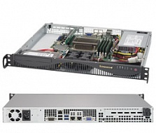 Платформа SuperMicro  SYS-5019S-ML, 1U Rack,  Socket-1151,  БП: 350