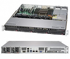 Платформа SuperMicro  SYS-5018R-MR, 1U Rack,  Socket-2011-v3,  БП: 400