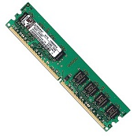 Память KINGSTON KVR800D2N6/1G, 1Gb,  DIMM,  DDR2,  800 МГц