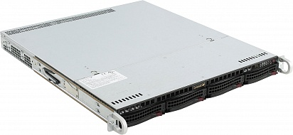 Платформа SuperMicro  SYS-1028R-WMR, 1U Rack,  Socket-2011-v3,  БП: 400