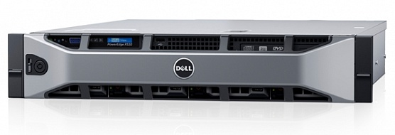 Сервер DELL R530, Intel Xeon E5-2623V4, 16Gb, БП: 750