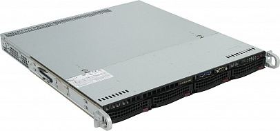Платформа SuperMicro  SYS-5019S-MT, 1U Rack,  Socket-1151,  БП: 350