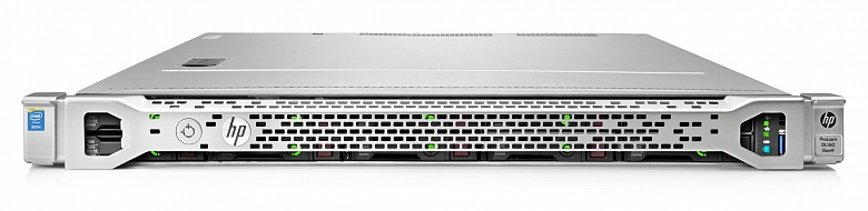 Сервер HP DL160 Gen9, Intel Xeon E5-2620V4, 16Gb, БП: 900