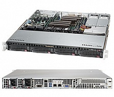 Платформа SuperMicro  SYS-6018R-MTR, 1U Rack,  Socket-2011-v3,  БП: 400