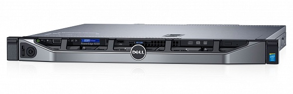 Сервер DELL R230, Intel Xeon E3-1230V6, 8Gb, БП: 250