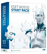 Программное обеспечение BOX ESET  NOD32 Start Pack