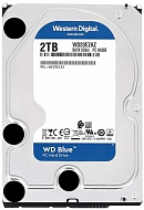 Жесткий диск Western Digital Blue WD20EZAZ, 2000Gb,  3.5