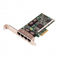 DELL NIC Broadcom 5719 QP 1Gb Network Interface Card, Low Profile - Kit