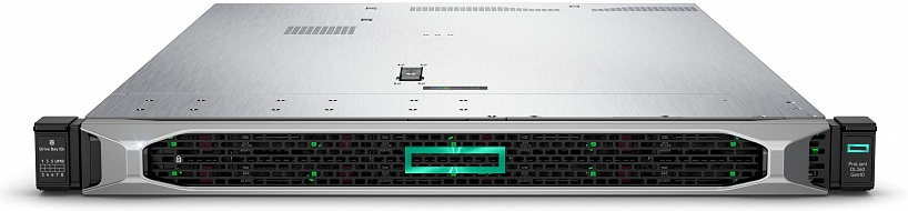 Сервер HPE Proliant DL360 Gen10, Intel Xeon 3106, 16Gb, БП: 500