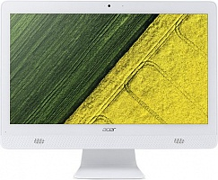 "Моноблок Acer Aspire C20-720 19.5"" HD+ Cel J3060/4Gb/1Tb/HDG/DVDRW/CR/Windows 10/GbitEth/WiFi/BT/клавиатура/мышь/Cam/белый 1600x900"