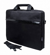 "Сумка PC PET PCP-1002BK 15.6"" Polyester HQ Classic Toplader Front compartment PU Cap Черный"
