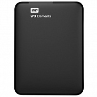 Внешний накопитель Western Digital WDBUZG0010BBK-EESN, 1000Gb,  USB 3.0