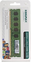 Память KINGMAX Память DDR3 4Gb 1600MHz Kingmax RTL PC3-12800 DIMM 240-pin, 4Gb,  DIMM,  DDR3,  1600 МГц